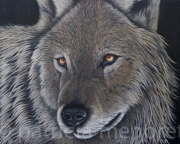 """tableau animaux animaux loup animal foret : """" WOLF"""""""