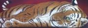 """tableau animaux animaux tigre felin afrique : """"RUSHAM"""""""