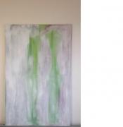 tableau abstrait amour passe unique brouillard : Brouillard