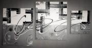 tableau abstrait : Grey