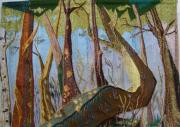 autres scene de genre : Les  Murmures  de  la  forêt