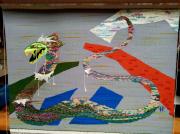 autres animaux tapisserie : Le Basilic