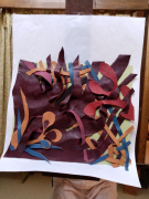 autres paysages tapisserie : Ecorce 2