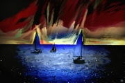 art numerique marine voiliers mer ports : Substance
