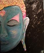 tableau personnages asie bouddha thailande relief : Buddha