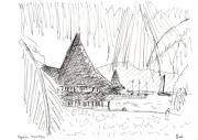 dessin : Polynésie touristique