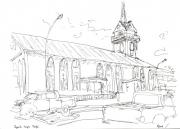 dessin : Temple Paofaï