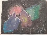 dessin autres univers cosmos nebuleuse espace : Nébuleuse polychromatique