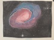dessin autres galaxie univers espace cosmos : Naissance d'une Galaxie