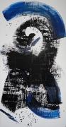 tableau abstrait : The Cowboy