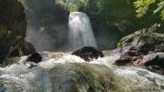 photo paysages cascade chute d eau vapeur d eau riviere : Cascade