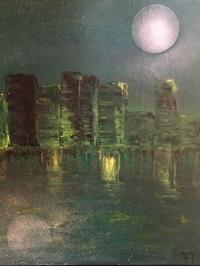 Clair de lune vert