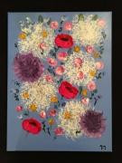 tableau fleurs bouquet fleurs slave : Bouquet slave