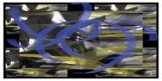 art numerique abstrait art abstrait : Effets de transparence et de loupe