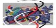 art numerique art abstrait : Lévitation