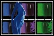art numerique nus apparition : Apparition nocturne