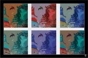 art numerique personnages portrait : Portrait de l'artiste