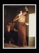 photo nus couple : Couple aux colombes