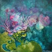 tableau marine coraux mer : Sans Titre 2