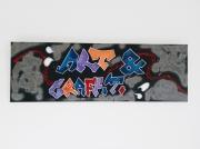 tableau abstrait tableau graffiti art et graffiti tableau moderne tableau colore : Tableau graffiti