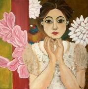 tableau personnages portrait femme femme moderne deco murale tableau femme modern : Tableau femme moderne