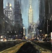 tableau villes urbain ville newyork peinture : New York , réf 13418