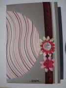 artisanat dart fleurs agenda creation scrapbooking original : agenda 2009
