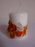 deco design fleurs bougie creation cadeau unique : bougie