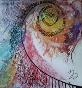 tableau abstrait abstrait : Escalier