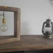 artisanat dart autres lampe bois vintage recyclage : Lampes en bois finition or