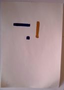 tableau abstrait : Carré