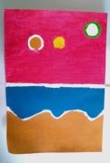dessin abstrait : Landscape