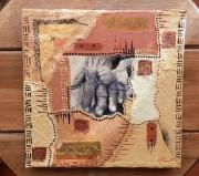 """tableau autres arts plastiques symbole collage matieres : """"Eternité"""""""