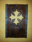 sculpture autres croix occitane bois : Croix occitane