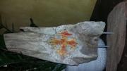 sculpture autres bois flotte croix occitane : Croix occitane