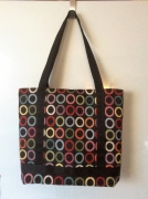 art textile mode autres cabas pochette shopping cours : sac cabas pièce unique