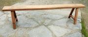 marquetry autres banc bois chene ferme : BANC EN CHENE