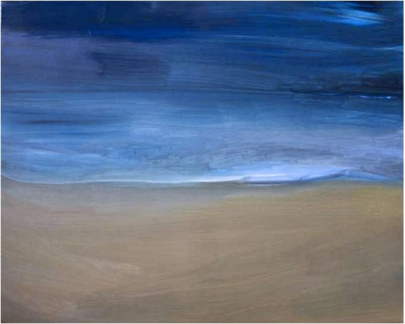 TABLEAU PEINTURE Bézos peinture contemporain paysage Paysages Acrylique  - paysage 4