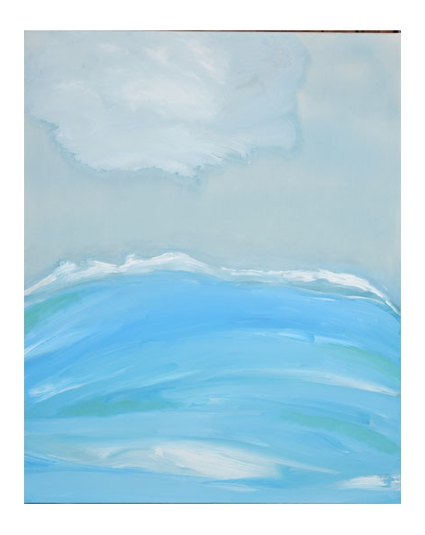 TABLEAU PEINTURE paysage contemporain Bézos acrylique Paysages Acrylique  - Paysage 5