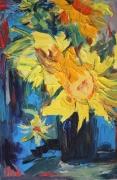 tableau fleurs : Tournesol