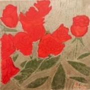"""tableau : """"Roses pour la vie"""""""