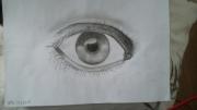 dessin autres oeil crayon : Big Brother