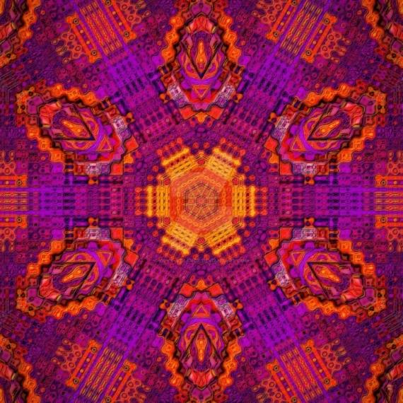 ART NUMéRIQUE fractal art digital tableau  - Mécanique minimaliste