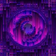 art numerique abstrait abstrait abstract modern psychedelique : Au delà de la vue