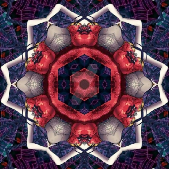 ART NUMéRIQUE fractal abstrait vecteur design  - Toiles