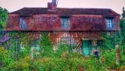 photo architecture paysage ferme urbex photo : Sans habitants