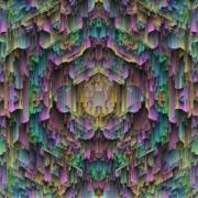 art numerique abstrait digital abstrait surrealisme moderne : Le glacier millénaire
