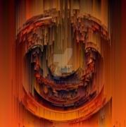art numerique abstrait abstrait digital fractal spiritual : Douce spiritualité
