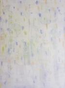 tableau abstrait epure minimaliste tache blanc : Absence