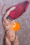 tableau nus femme geometrique : Dropped it